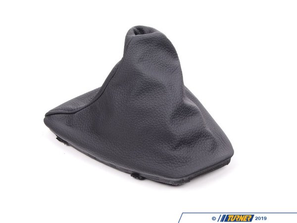Genuine BMW Genuine BMW Dakota Leather Manual Shift Boot - Schwarz 25117595282