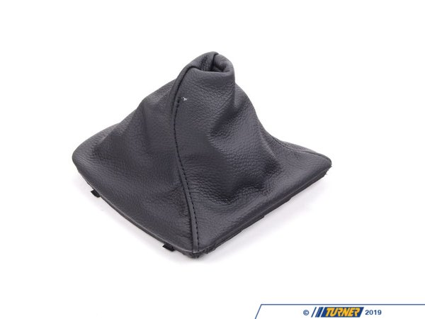 T#15298 - 25117595282 - Genuine BMW Gearshift Shift Lever Boot, Leather Da 25117595282 - Genuine BMW -