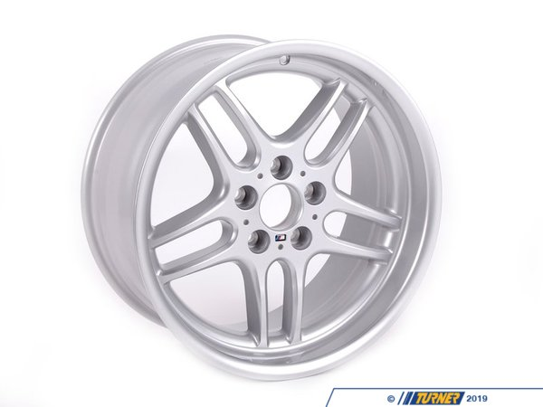 T#65782 - 36112227933 - Genuine BMW Alloy Rim Forged 9Jx18 Et:22 - 36112227933 - E34 - Genuine BMW -