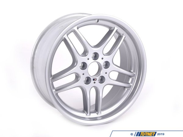 T#65781 - 36112227931 - Genuine BMW Alloy Rim Forged 8Jx18 Et:20 - 36112227931 - E34 - Genuine BMW -