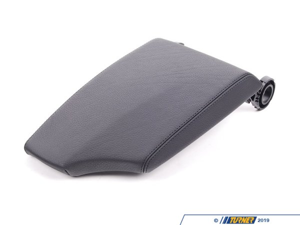 T#87434 - 51169202350 - Genuine BMW Cover, Centre Arm Rest, Leather Schwarz - 51169202350 - Genuine BMW -