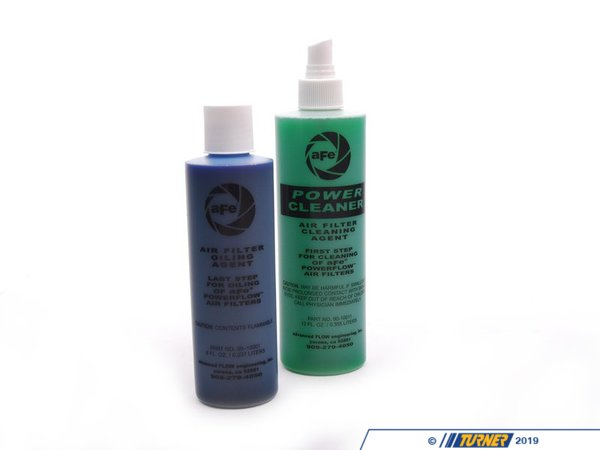 T#1943 - 55-10460 - aFe Restore Kit for Pro5R Oiled Filters - Bring your aFe filter back to life with a Restore kit from aFe. Included is filter cleaner & replacement oil. These air filter oils is designed to not harm MAF sensors, while allowing the filter to catch as much debris as possible.Used for Pro 5 R filters - AFE - BMW