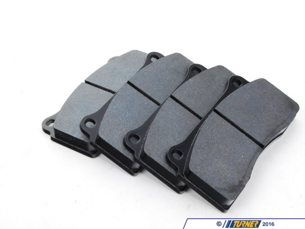 T#16478 - TMS16478 - Brembo Calipers F40, F50, B, H, GT1 - Race Brake Pad Set - Hawk DTC-70 - Hawk - BMW