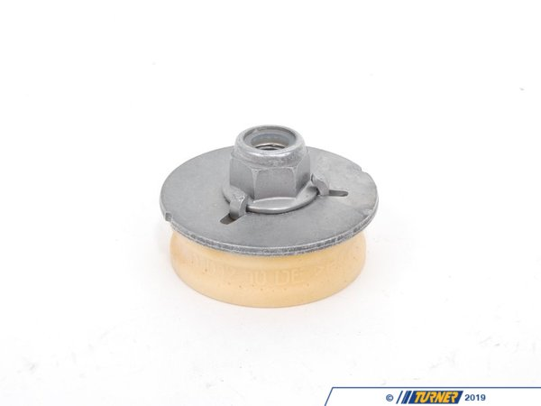 T#19785 - 33506771737 - OEM Lemforder Guide Support/Strut Mount - Upper Part - E88 E82 E9X - Strut mounts can begin to wear and fail over time, causing a knock in the suspension to occur. Replace yours with a high quality OEMLemfrder replacement to ensure a tight, noise-free ride.OEM Lemfrder is an engineering company that focuses on high-quality, precision manufacturing of critical suspension and steering components. Providing exceptionally high quality parts directly to BMW, as well as 50+ other big name automotive companies, such as Mercedes and Audi, their history of reliability and variety of offered parts makes them one of the biggest names for a go-to OEM parts provider. Lemfrder parts place an important emphasis on design, production, and assembly, ensuring maximum reliability. They even coat all parts possible with corrosion protection for extended longevity.As a leading source of high performance BMW parts and accessories since 1993, we at Turner Motorsport are honored to be the go-to supplier for tens of thousands of enthusiasts the world over. With over two decades of parts, service, and racing experience under our belt, we provide only quality performance and replacement parts. All of our performance parts are those we would (and do!) install and run on our own cars, as well as replacement parts that are Genuine BMW or from OEM manufacturers. We only offer parts we know you can trust to perform! - Lemforder - BMW