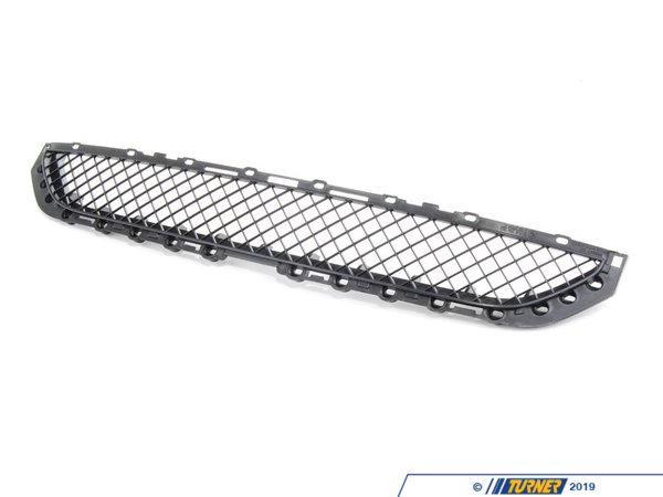 T#20971 - 51118204363 - Bumper Grill - E46 323ci, 325ci, 328ci 330ci 1999-2003 - This is the Genuine BMW bumper mesh grid that goes in the center of the stock front bumper.   This is secured in place with locking ring #64118247773 (sold individually)This item fits the following BMWs:1999-2003  E46 BMW 323ci 325ci 328ci 330ci - Genuine BMW - BMW