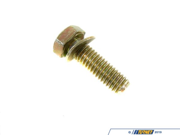 T#51253 - 24101421422 - Genuine BMW Hex Bolt M6X20 - 24101421422 - E34,E38,E39,E46,E53,E85 - Genuine BMW -