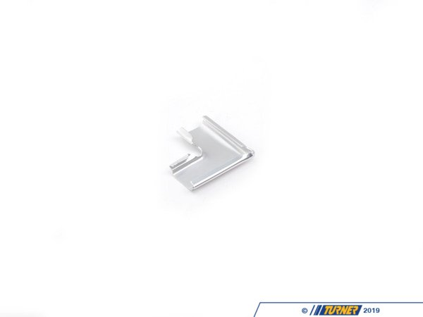 T#9475 - 51311884408 - Chrome Rear Lockstrip Clip - E30 - 2 required - Genuine BMW - BMW