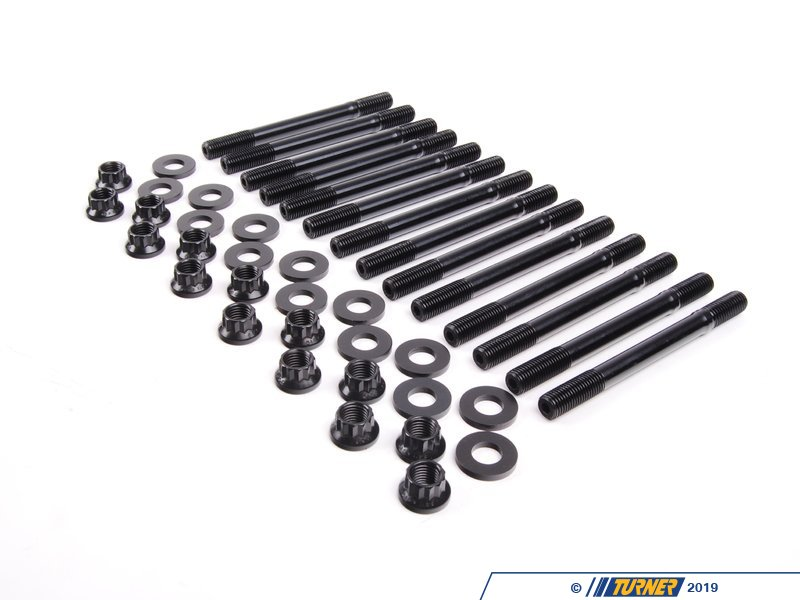 T#3606 - 201-4302 - ARP Steel Block Head Stud Kit for M50/M52 & S50/S52 (US Spec) - ARP - BMW