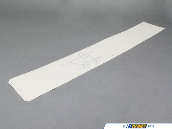T#81257 - 51147267894 - Genuine MINI Decorative Strips, Right Pepper White - 51147267894 - Genuine MINI -