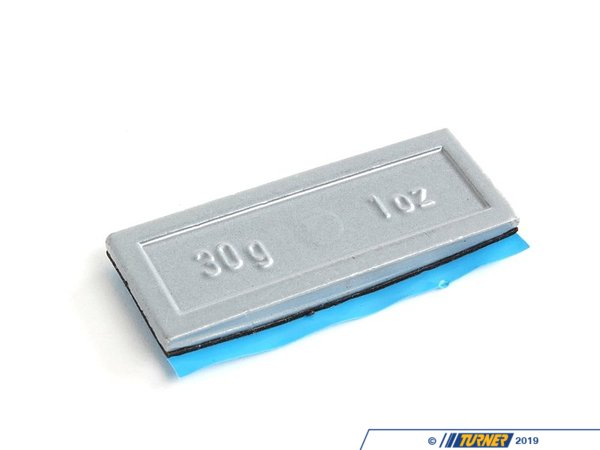 T#66180 - 36116766336 - Genuine BMW Balance Weight, Zinc, W. Adh - 36116766336 - Genuine BMW -