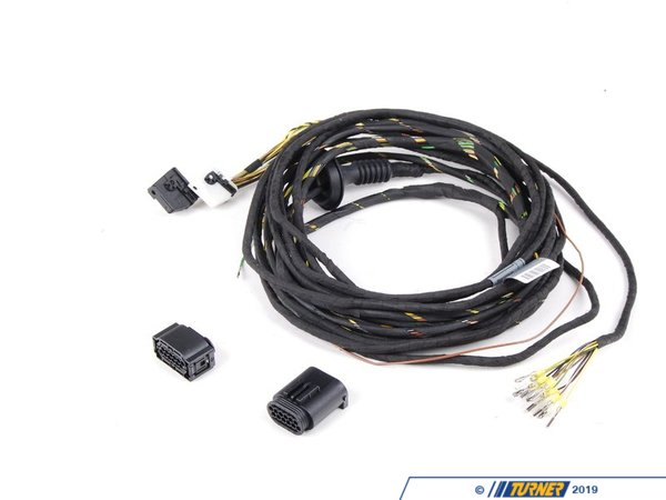 bmw wiring kit 7 pin trailer wiring kit 61120303064 - genuine bmw retrofit wiring kit pdc ...