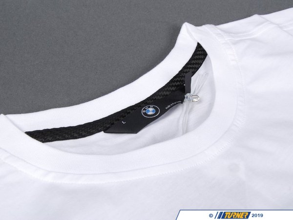 T#162585 - 80142158075 - Genuine BMW M Fan T-Shirt White, M, 2009 - 80142158075 - Genuine BMW -