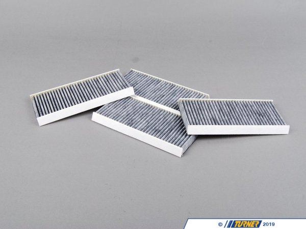 Mann OEM Mann Cabin Air Filter Set - Activated Charcoal - E9X M3 64319159606