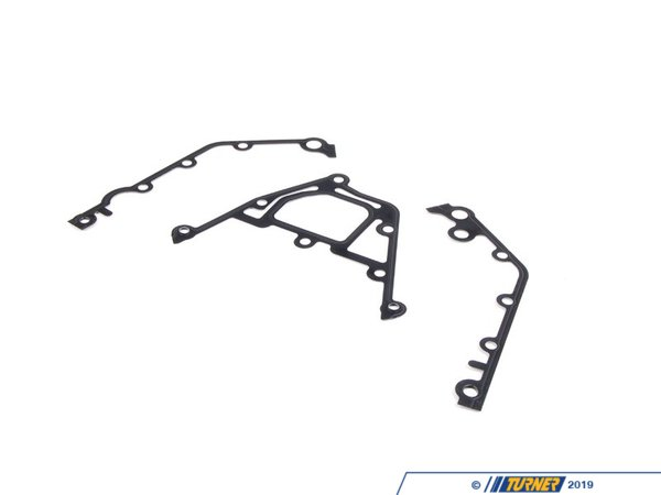 T#6643 - 11141436978 - Lower Timing Case Gasket Set - E39 E38 E32 E34 E53 - Elring - BMW