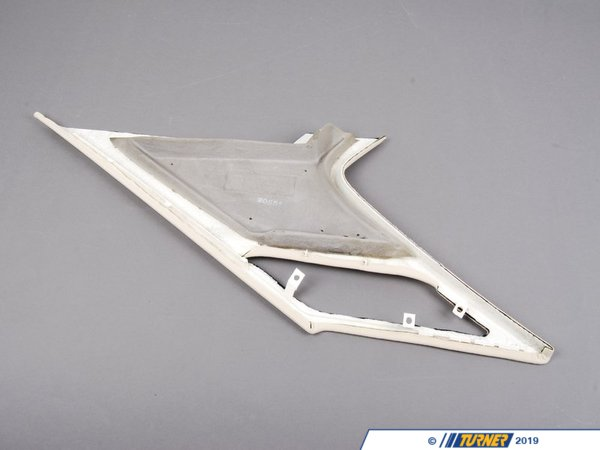 T#104970 - 51438250941 - Genuine BMW Trim Panel Column, Rear Left - 51438250941 - Pearlbeige - Genuine BMW -