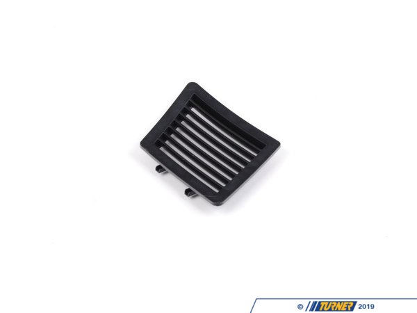 T#103279 - 51437057937 - Genuine BMW Grille, Rear Ventilation, Le - 51437057937 - Schwarz - Genuine BMW -