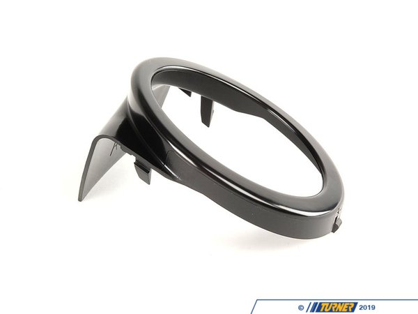 T#20968 - 51117893068 - Fog Light Trim Ring - Right - E46 With M-tech / Zhp Front Spoiler - Genuine BMW - BMW