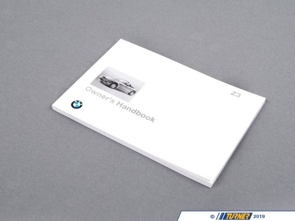 T#26788 - 01419789951 - Genuine BMW Owner's Handbook Z3 E36/7 - 01419789951 - Genuine BMW -