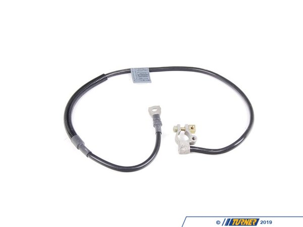 T#22417 - 12421711315 - Genuine BMW Battery Cable (Plus Pole) L=890mm - 12421711315 - E30 - Genuine BMW -