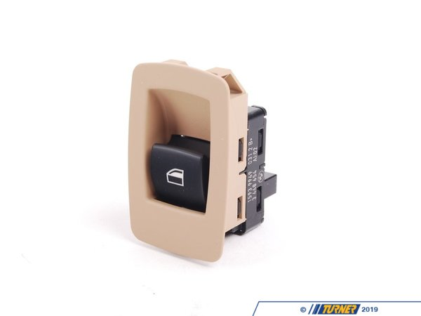 T#142081 - 61313448654 - Genuine BMW Switch Window Lifter Sandbeige - 61313448654 - E83 - Genuine BMW -