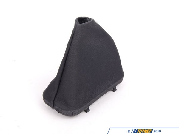 T#53162 - 25161422111 - Genuine BMW Leather Boot Schwarz - 25161422111 - E38 - Genuine BMW -