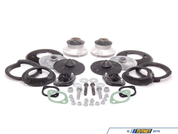 Cup Kit/Coilover Installation Kit - With Spring Pads