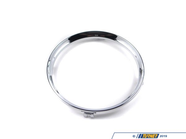 T#82368 - 51162756172 - Genuine MINI Trim Ring, Drink Holder, Rear Chrome - 51162756172 - Genuine Mini -