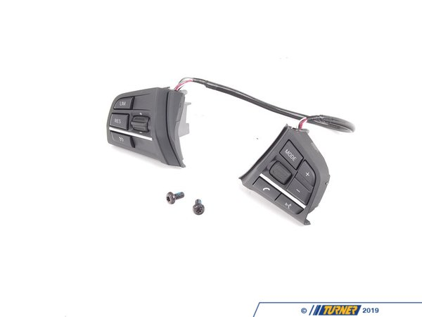 T#177771 - 61319229484 - Genuine BMW Switch, Multifunct. Steering Wheel - 61319229484 - F10 - Genuine BMW -