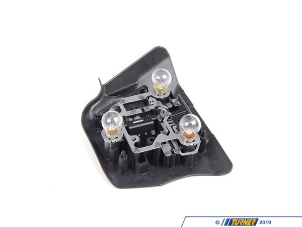 T#4736 - 63218364729 - Tail Light Bulb Socket Panel - Left - E46 2DR 00-03 - Genuine BMW - BMW