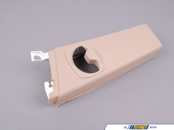 T#102746 - 51436954657 - Genuine BMW Cover, B-Column Upper Left Creambeige - 51436954657 - E92 - Genuine BMW -