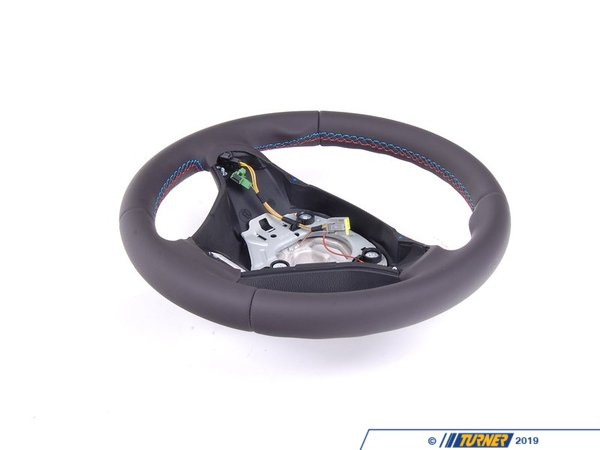 Genuine BMW Genuine BMW M Leather Steering Wheel - E82 1 M Coupe E90 E92 E93 M3 32302283733
