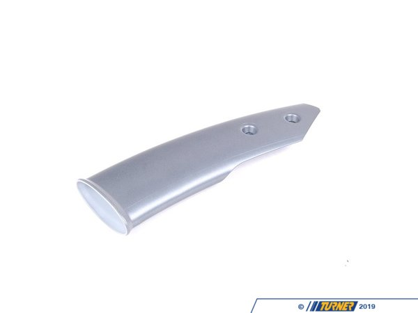T#107103 - 51456973076 - Genuine MINI Cover, Pipe Right Decor Anth - 51456973076 - Genuine MINI -