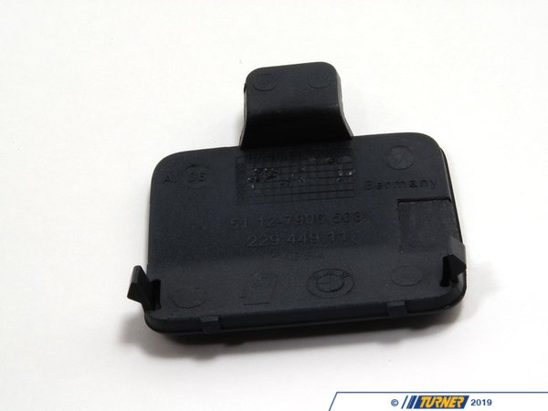 T#78819 - 51128041134 - Genuine BMW Flap, Towing Eye, Primed -M- - 51128041134 - E90 - Genuine BMW -