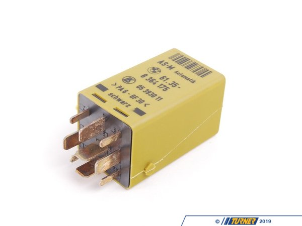 T#144147 - 61358364175 - Genuine BMW Starter Interlock Relay - 61358364175 - E34,E36,E38 - Genuine BMW -