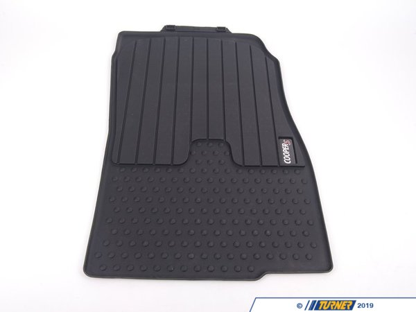 T#24078 - 51472181811 - Genuine MINI All-Weather Mat, Front Lhd,Coopers,Sw - 51472181811 - Genuine MINI -