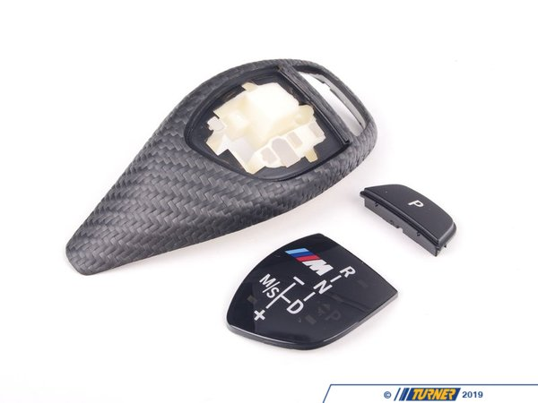 T#22018 - 61312250698 - Genuine BMW M Performance Automatic Shift Knob - Carbon Fiber - F22/F23 F30/F31/F34/F32/F33/F36 F25/F26 - This carbon fiber selector lever for automatic transmission incorporates the same open-pore technology as the interior trim and has the M Performance banding located in the gear shift graphic. Please choose between Automatic Transmission (#61312250696) and Sport Automatic Transmission (#61312250698)This item fits the following BMWs:2014+  F22 BMW 228i M235i2012+ F30 BMW 320i 320i xDrive 328d 328d xDrive 328i 328i xDrive 335i 335i xDrive - Sedan2013+ F31 BMW 328i xDrive 328d xDrive - Wagon2013+ F32 BMW 428i 428i xDrive 435i 435i xDrive - Coupe2014+ F34 BMW 328i xDrive GT, 335i xDrive GT - Gran Tourismo2014+ F36 BMW 428i Gran Coupe 428i xDrive Gran Coupe 435i Gran Coupe 435i xDrive Gran Coupe2011+  F25 BMW X3 xDrive28i X3 xDrive28d X3 xDrive35i2015+  F26 BMW X4 xDrive28i X4 xDrive35i - Genuine BMW M Performance -