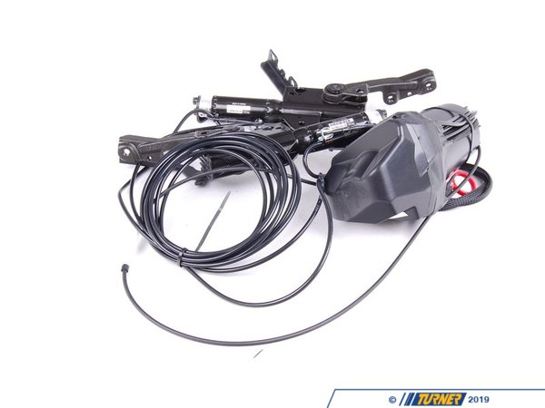 T#13994 - 54347079586 - Genuine BMW Convertible Top Hydraulic Unit - Z4 - A new convertible top hydraulic unite, these are a common failure part causing you top not to be able to fold up or down. includes hinges, hoses and hydraulic pieces.