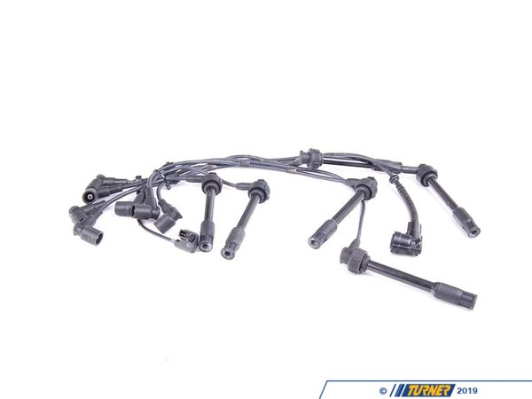 T#13065 - 12121312680 - E34 M5 Genuine BMW Ignition Wiring Set - Factory original spark plug wires, to help deliver a perfect, uninterrupted spark impulse to each cylinder of your BMW's engine. Old wires will impair spark, reduce performance, and cause cylinder misfires. We recommend changing your ignition wires every 50k miles, or as soon as your wires show signs of wear.This item fits the following BMWs:1991-1995  E34 BMW M5 3.6 - Genuine BMW - BMW