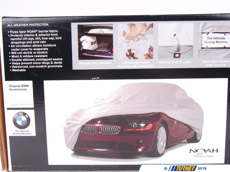 82110000323 Genuine Bmw Car Cover Z3 M Coupe Turner