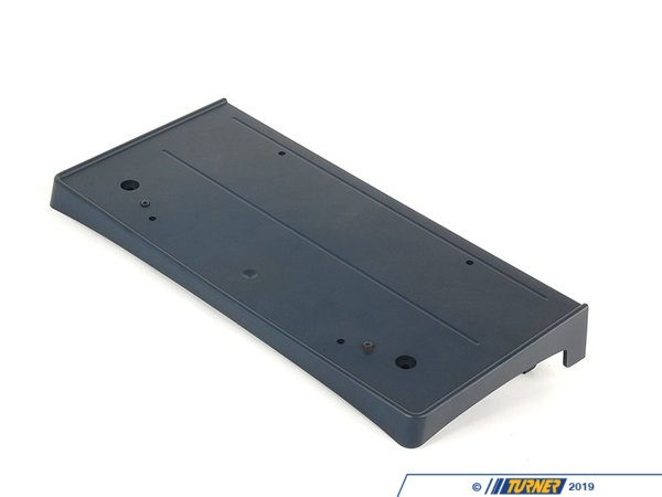 T#21874 - 51117111743 - Genuine BMW License Plate Base Primed - 51117111743 - Genuine BMW -