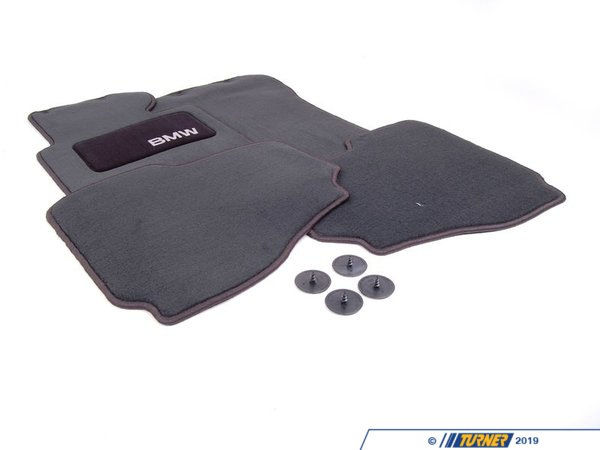T#24877 - 82111468285 - Genuine BMW Floormat Black - 82111468285 - E36 - Genuine BMW -