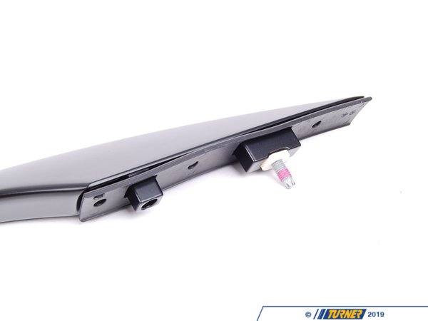 T#80010 - 51137158529 - Genuine BMW Roof Railing, Left Schwarz - 51137158529 - E70 X5 - Genuine BMW -