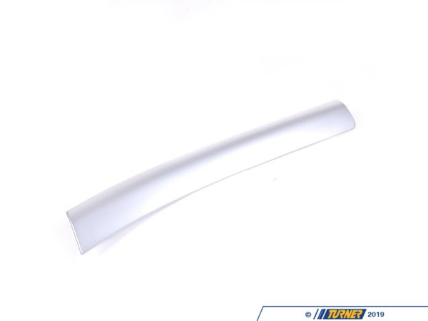 T#108347 - 51458235582 - Genuine BMW Decor Strip,matte Chrm.,inst - 51458235582 - Genuine BMW -