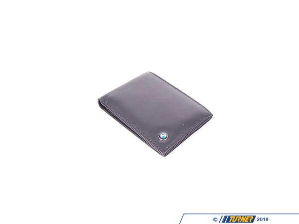 Genuine BMW Genuine BMW Accessories Mens BMW Small Leather Walle 80212244685 80212244685