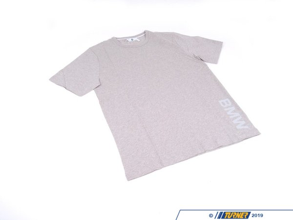 T#176651 - 80142298073 - Genuine BMW T-Shirt For Men Grey, S - 80142298073 - Genuine BMW -