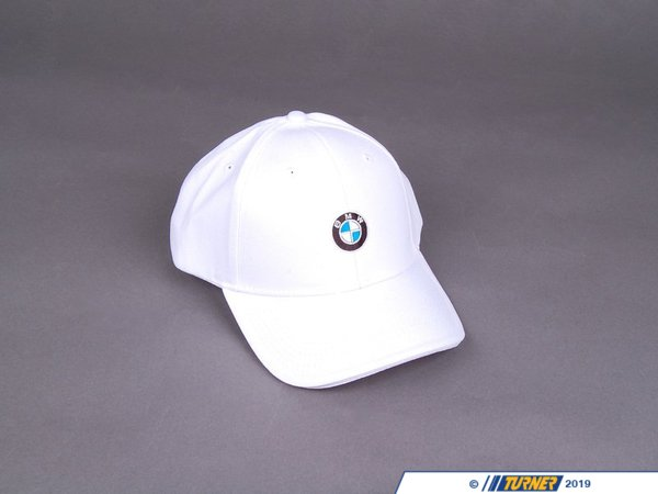 T#24780 - 80162208704 - Genuine BMW Roundel Cap - White - 80162208704 - Genuine BMW -