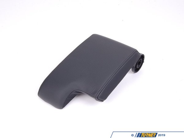 T#86100 - 51168229235 - Genuine BMW Armrest Upper Leather Schwarz - 51168229235 - E46 - Genuine BMW -