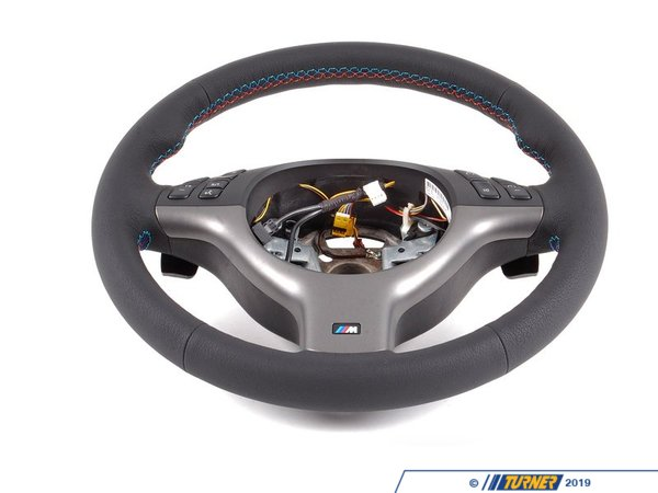 Genuine BMW Genuine BMW M3 Steering Wheel - With Multifunction Controls - E46 M3 32342282222