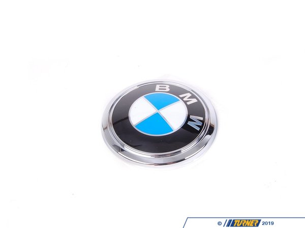 T#23652 - 51147135356 - Genuine BMW Badge - 51147135356 - E65 - Genuine BMW -