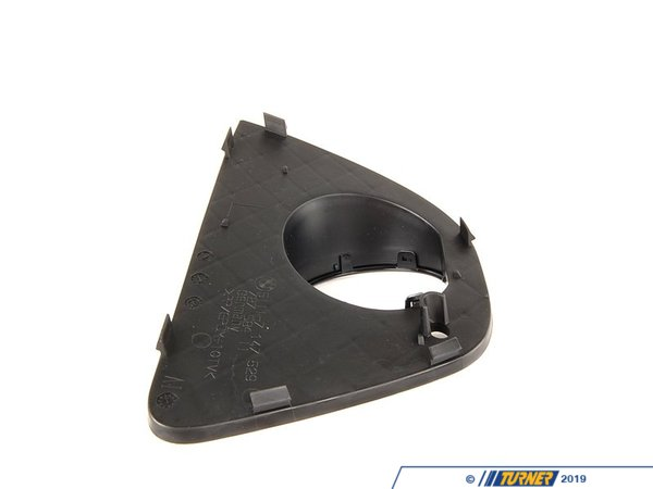 T#76256 - 51117147525 - Genuine BMW Grid Lateral Left Schwarz - 51117147525 - E46 - Genuine BMW -